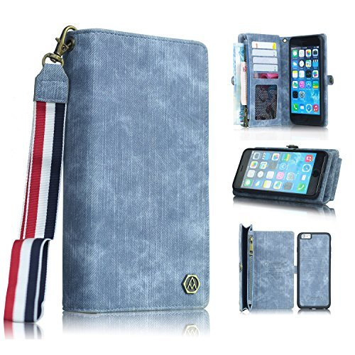 iPhone 7 Wallet CoverSimicoo D...