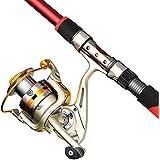釣り用リール スピニングフィッシングリール8 + 1ベアリング左右交換可能なハンドル用塩水淡水釣りダブルダブルブレーキシステム釣りリール (サイズ : 1000)