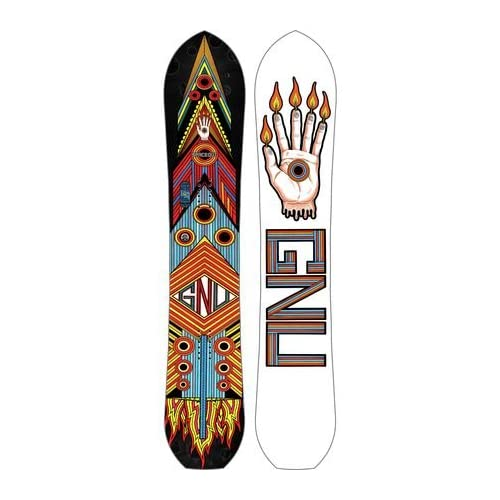 Gnu Forest Bailey Space Out DC2 BTX Snowboard 153cm [並行輸入品]