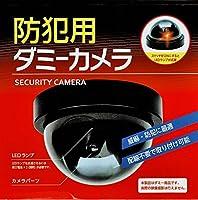 防犯用 ダミーカメラ 威嚇・防犯に最適 配線不要で取り付け可能