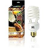 Lucky Herp 10.0 UVB Fluorescent Desert Terrarium Lamp,Compact Bulb (26 Watt)