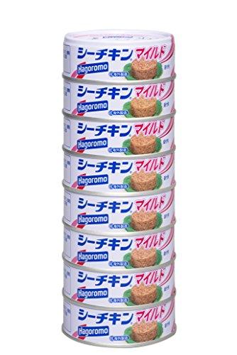 【Amazon.co.jp限定】はごろも シーチキンマイルド 70g×8缶