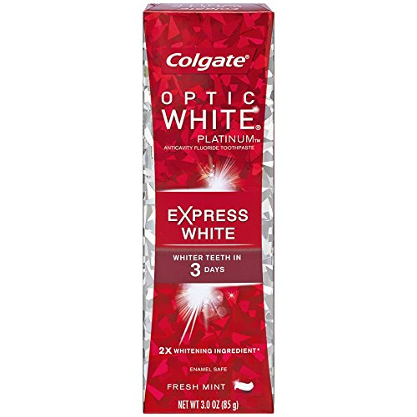 無視ダニ無視コルゲート 歯みがき粉 オプティック ホワイト 3Days エクスプレス ホワイト