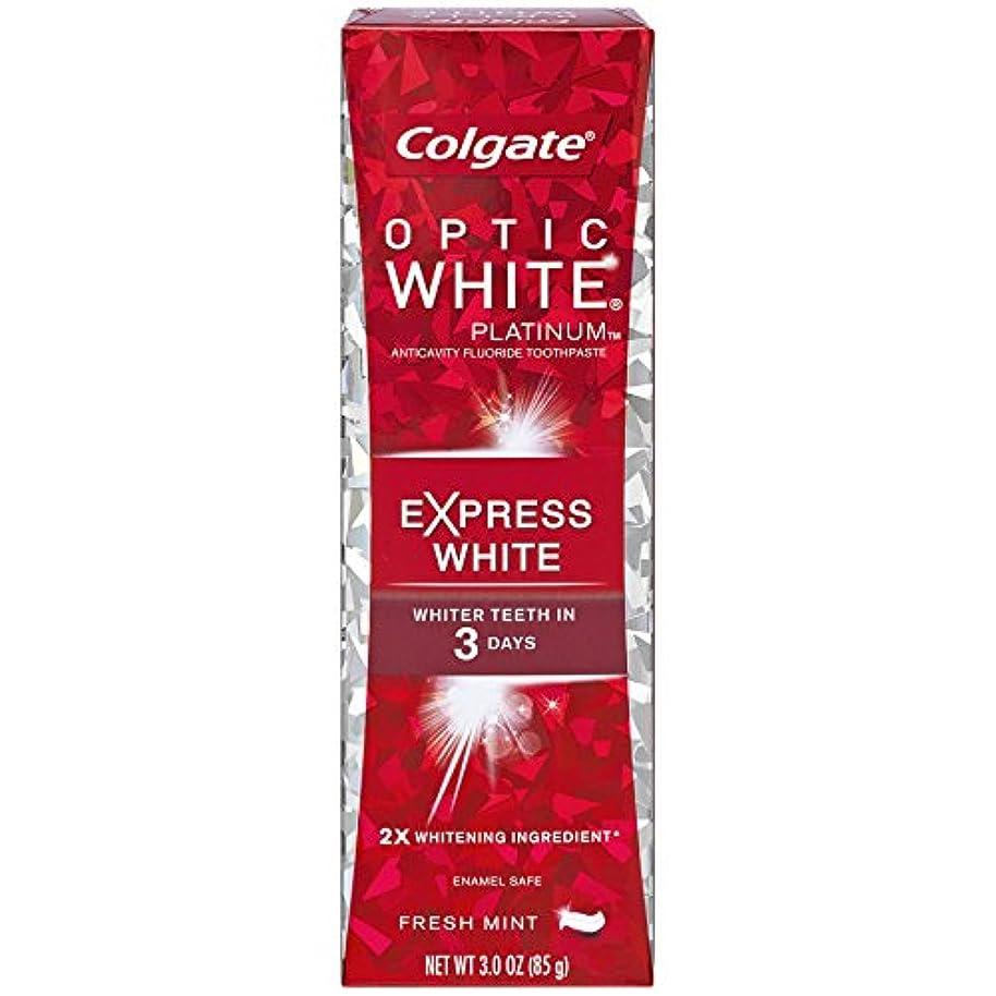 押す政策無法者コルゲート 歯みがき粉 オプティック ホワイト 3Days エクスプレス ホワイト