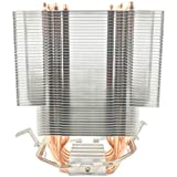 Semoic ファンレスCPUクーラー12Cmファン6銅製ヒートパイプファンレス冷却ラジエーター A 1150/1151/1155/1156/1366/775/2011 用