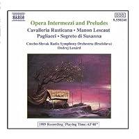 OPERA INTERMEZZI AND PRELUDES【CD】 [並行輸入品]