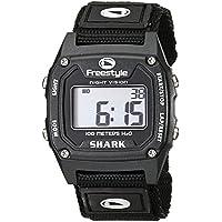 [フリースタイル]Freestyle 腕時計 SHARK CLASSIC NYLON デジタル 100m防水 ナイロンベルト ブラック 10006729 【正規輸入品】