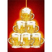 噴水のビール–Avanti Apress Funny Masculine誕生日カード
