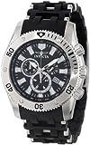 腕時計 インヴィクタ Invicta Men's 0138 Sea Spider Collection Chronograph Black Polyurethane Watch【並行輸入品】