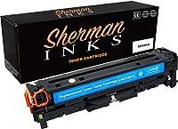 シャーマン シアン 互換トナーカートリッジ 交換用 プリンターモデル HP 304A カラーレーザージェット CM2320fxi カラーレーザージェット CM2320nf カラーレーザージェット CP2025dn カラーレーザージェット CP2025n