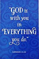 """Have a blessed and happy誕生日–Religious Christian Greeting Card–「神はwith You in Everything You Do """""""