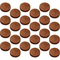 Platte River 944482, 5-pack Of 24 Each, Wood Specialties, Toy Parts, 24 Walnut Stained Checkers