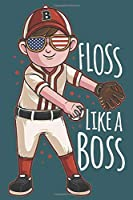 2020 Week To View Dated Planner Diary: 6x9 Inches Paperback Baseball Pitcher Floss Like A Boss