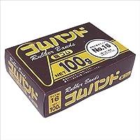 たんぽぽ:ゴムバンド 箱入100g(正味重量) 内径:38mm 109992120 03096