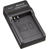 NinoLite USB型 バッテリー 用 充電器 海外用交換プラグ付 キャノン NB-4L NB-5L 等対応 チャージャー DC22/K4