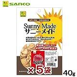 三晃商会 SANKO サニーメイド アップル 40g 5袋入り