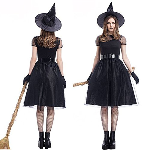 monoii 魔女 コスプレ ハロウィン 魔女 コスチューム ウィッチ 衣装 c036