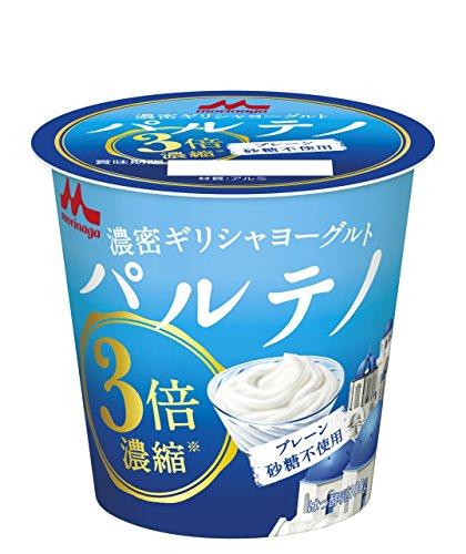 [冷蔵] 森永乳業 3倍濃縮 ギリシャヨーグルト パルテノ プレーン砂糖不使用 100g