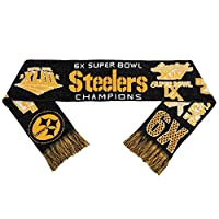 (Pittsburgh Steelers) - 2015 NFL Team Logo Super Bowl Commemorative Acrylic Scarf - Pick Team