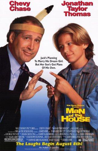 家のMan映画ポスター27x 40インチ–69cm x 102cm ) ( 1995)–( Chevy Chase ) ( Farrah Fawcett ) (ジョナサン・テイラー・トーマス) (ジョージ・ウェント) ( David Shiner ) (アートLaFleur )