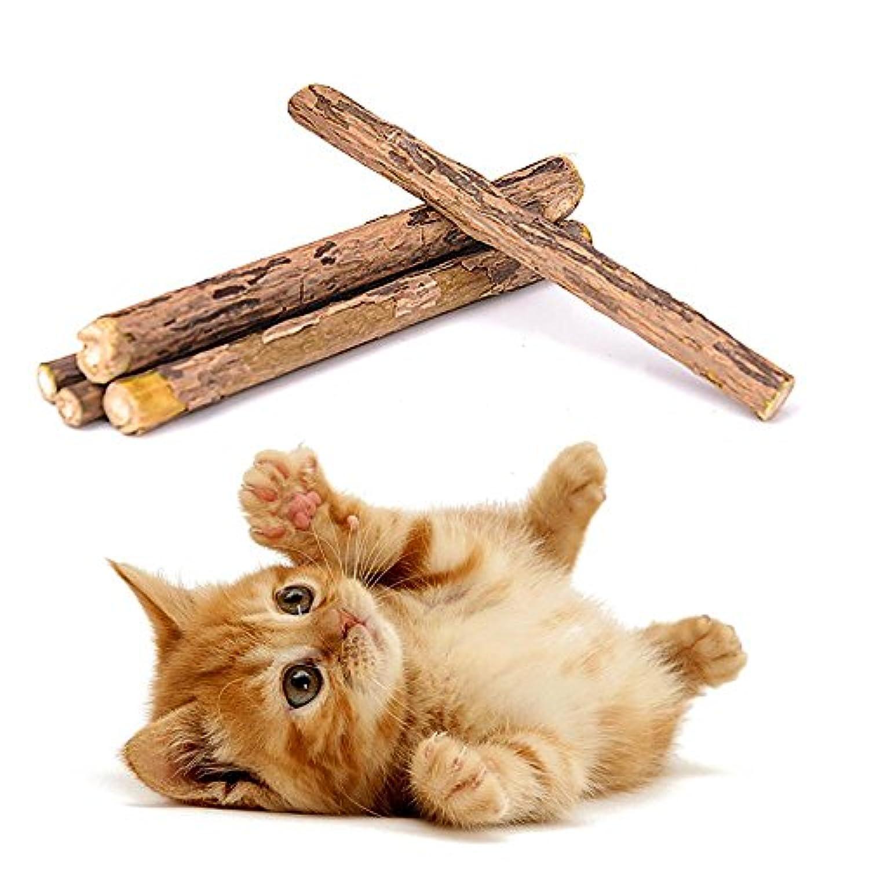Pawaca またたびの木 猫のおもちゃ 噛むおもちゃ ぬいぐるみ 運動不足 ネコのストレス解消 トレーニング グーズ  ペット用品