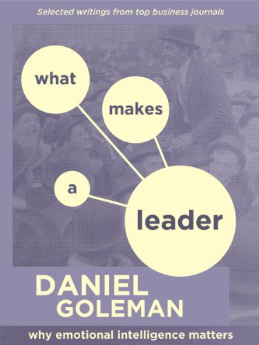 WHAT MAKES A LEADER: WHY EMOTIONAL INTELLIGENCE MATTERS by [Goleman, Daniel]