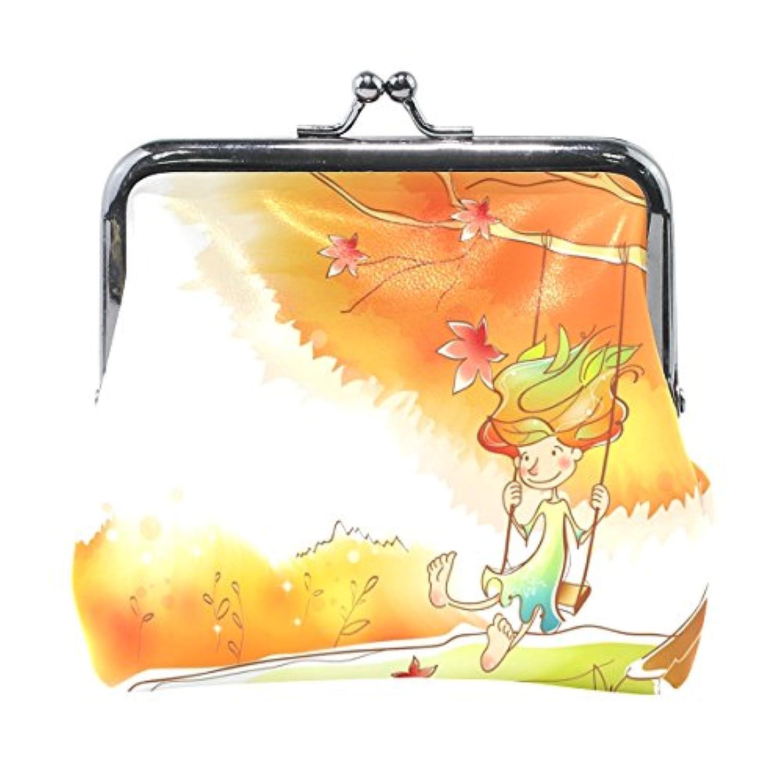 Anmumi がま口 ポーチ 漫画 コインケース 財布 小銭入れ PUレザー レディース キッズ 子供 人気 大容量 小物ケース かわいい 通勤通学