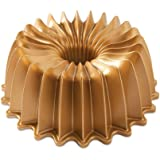 Nordic Ware 85777 Brilliance Bundt Pan, Gold, One Size