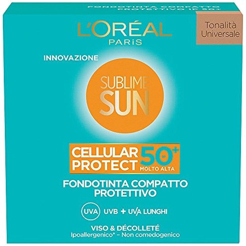 コロニー苦しめるデータベースsublime sun cellular protect - compact foundation spf 50+