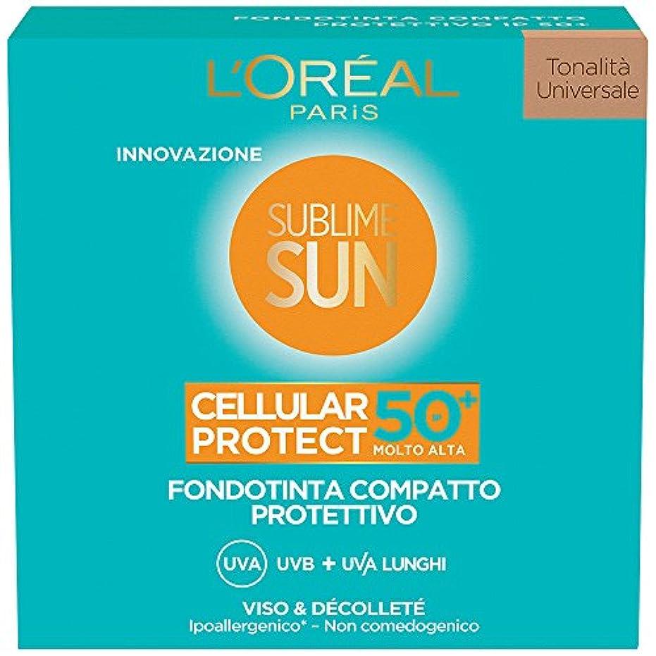 公爵夫人発火するトランジスタsublime sun cellular protect - compact foundation spf 50+