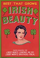 Irish Beauty Vegetableラベル 16 x 24 Signed Art Print LANT-1629-709