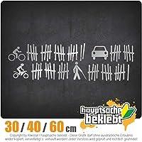 List of victims - 3つのサイズで利用できます 15色 - ネオン+クロム! ステッカービニールオートバイ