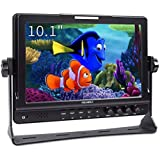"""Feelworld FW1018 On Camera Field Monitor 10.1"""" Full HD 1280x800 LCD IPS Screen 16:10 with HDMI YPbPr AV for DSLR Rig Sony Can"""
