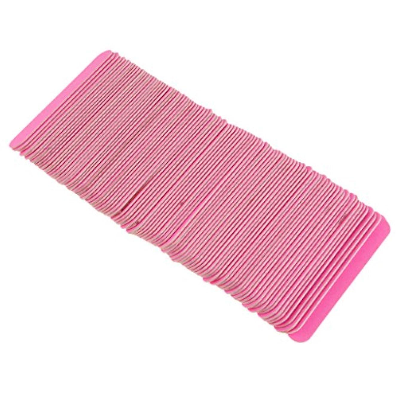 口述する意識異常Toygogo ネイルファイル 爪やすり 爪磨き ネイルバッファー 爪ファイル ネイルサロン 約100個セット