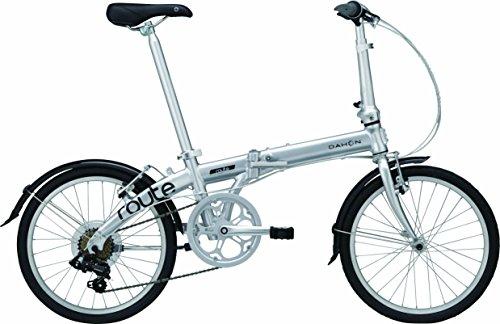 DAHON(ダホン) Route 7speed 折りたたみ自転車 2017年モデル 20インチ ピュアシルバー 17ROUTSL00