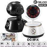 Digoo HD 960P Wired Wireless WiFi Night Vision Audio Intercom Smart Baby Monitor DG-M1X (Black)