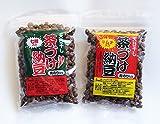 いばらき食品 生干納豆 ピリ辛味 (七味100g&キムチ100g 各1個、計200g)