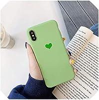 ケースfor iPhone Xs Max X XR 7 8 Plus 6 6S 5 5S SEキャンディーカラーシリコンケースOneplus 6T 6 5T 5 for Meitu M8 M6 T8ソフトバックカバー、iPhone 7 8 Plus、オレンジ,緑,ForIphoneXR