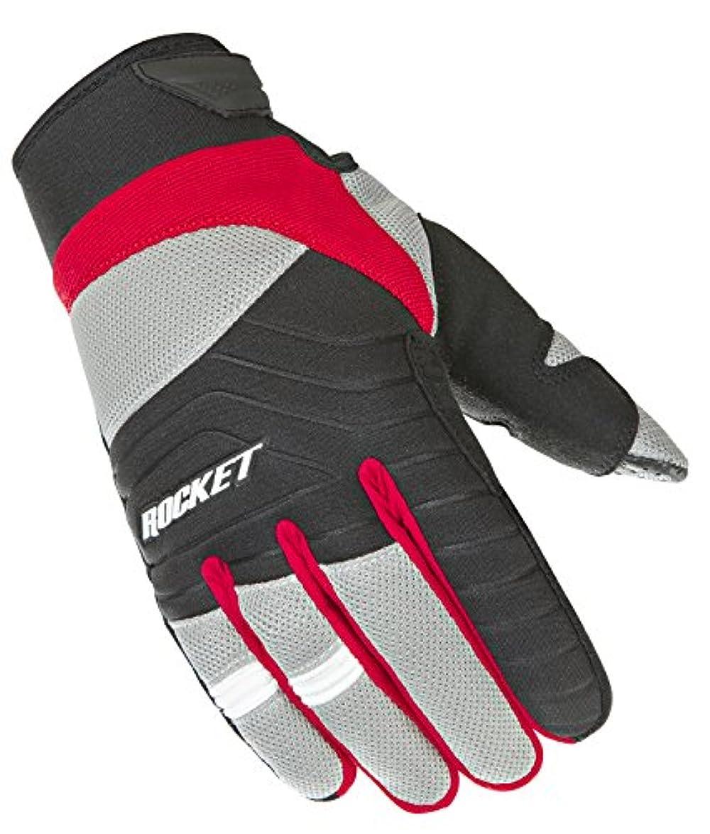 スポットサーキットに行く画像Joe Rocketメンズビッグバン2.1手袋(レッド/ブラック, Medium)
