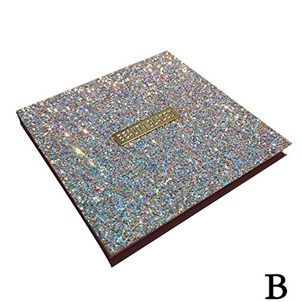 ピーク露出度の高いソロ(ゴールデン ドリーミング)Golden Dreaming beauty glazed 無光沢の真珠16色のアイシャドウ (B 2#)