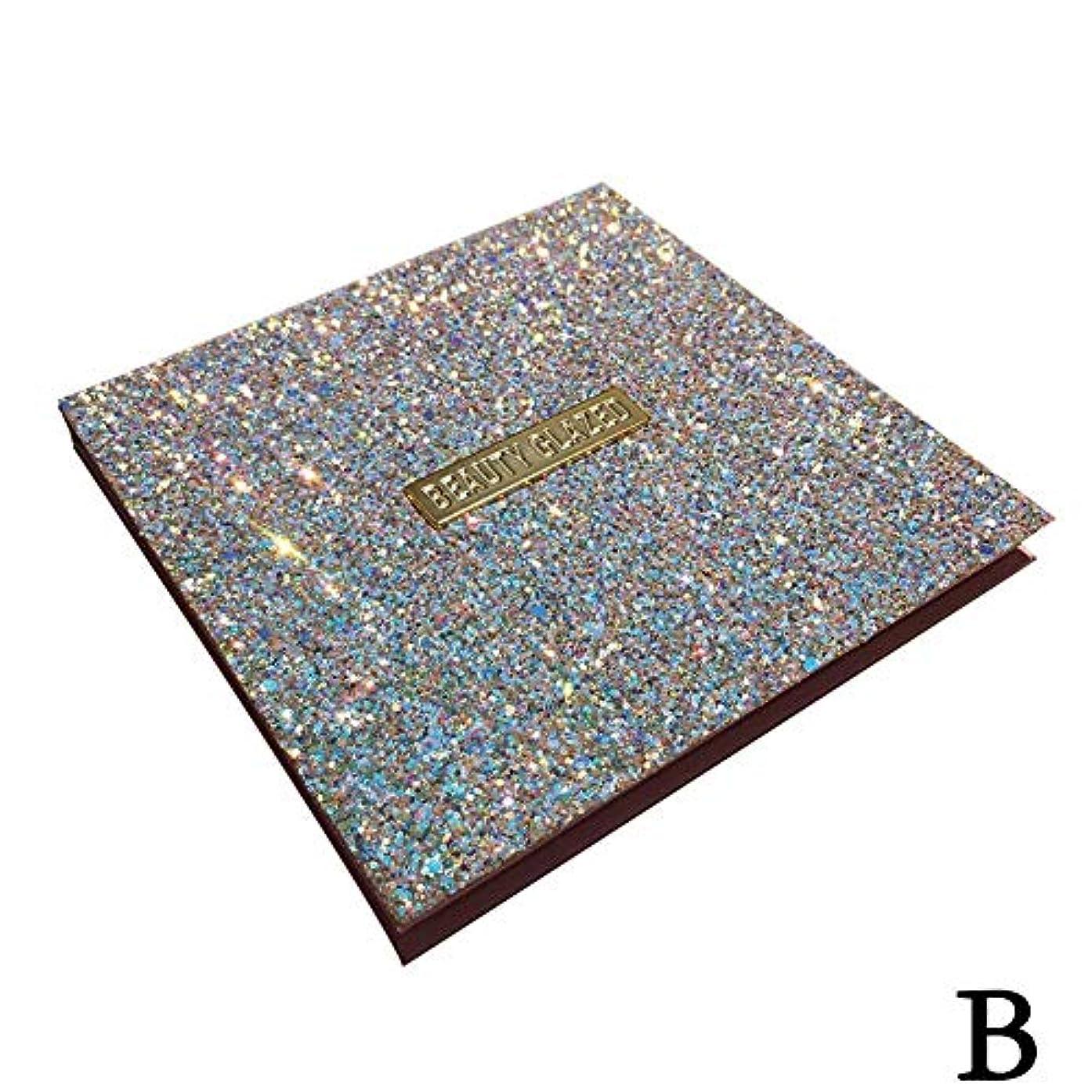 レトルト言い換えると均等に(ゴールデン ドリーミング)Golden Dreaming beauty glazed 無光沢の真珠16色のアイシャドウ (B 2#)