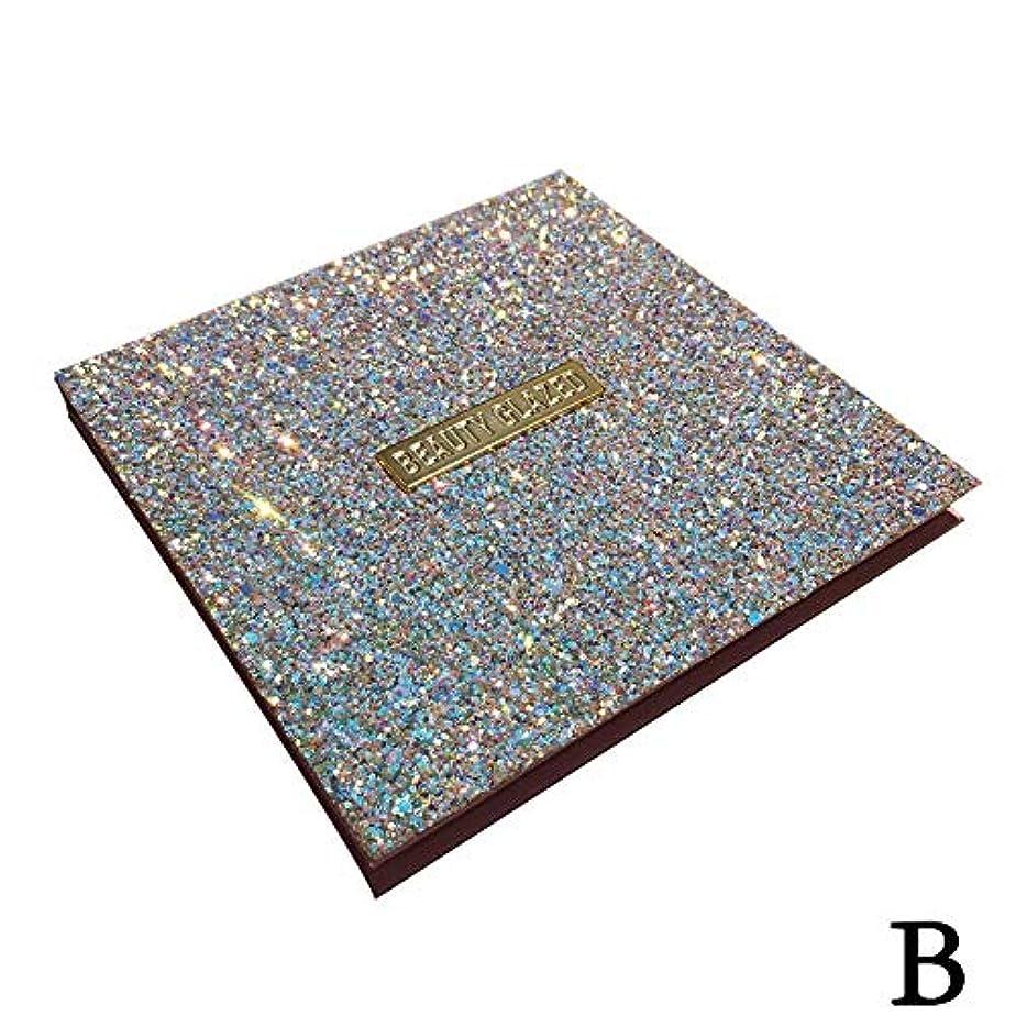 方程式セットアップフォーマット(ゴールデン ドリーミング)Golden Dreaming beauty glazed 無光沢の真珠16色のアイシャドウ (B 2#)