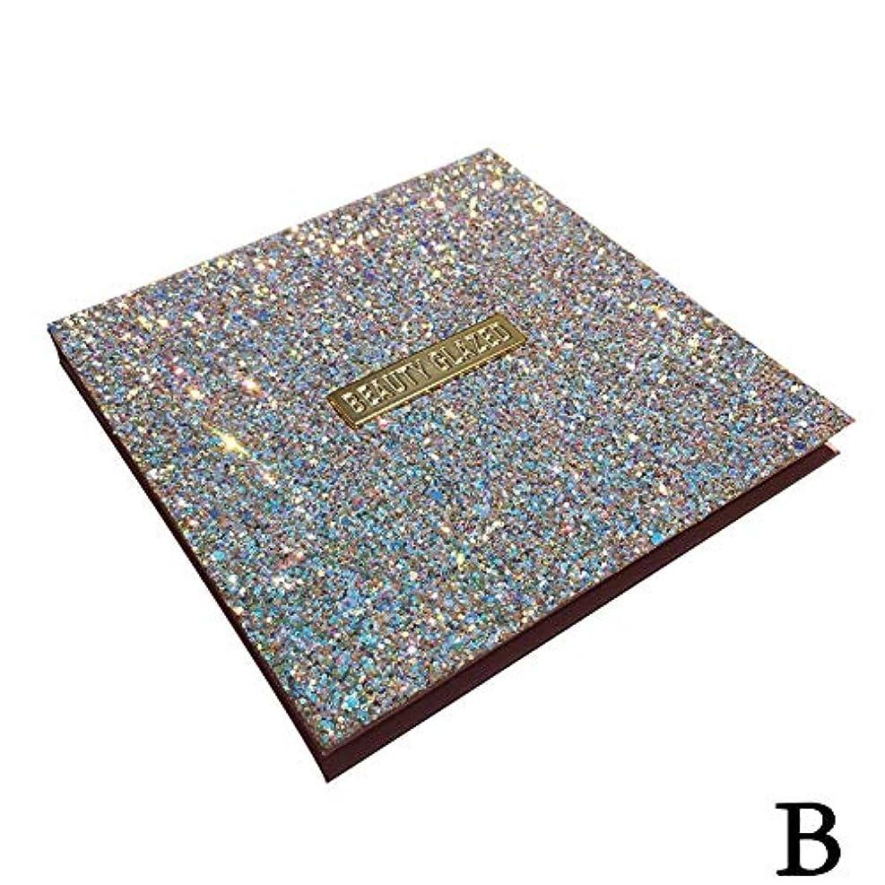 望む松交換(ゴールデン ドリーミング)Golden Dreaming beauty glazed 無光沢の真珠16色のアイシャドウ (B 2#)