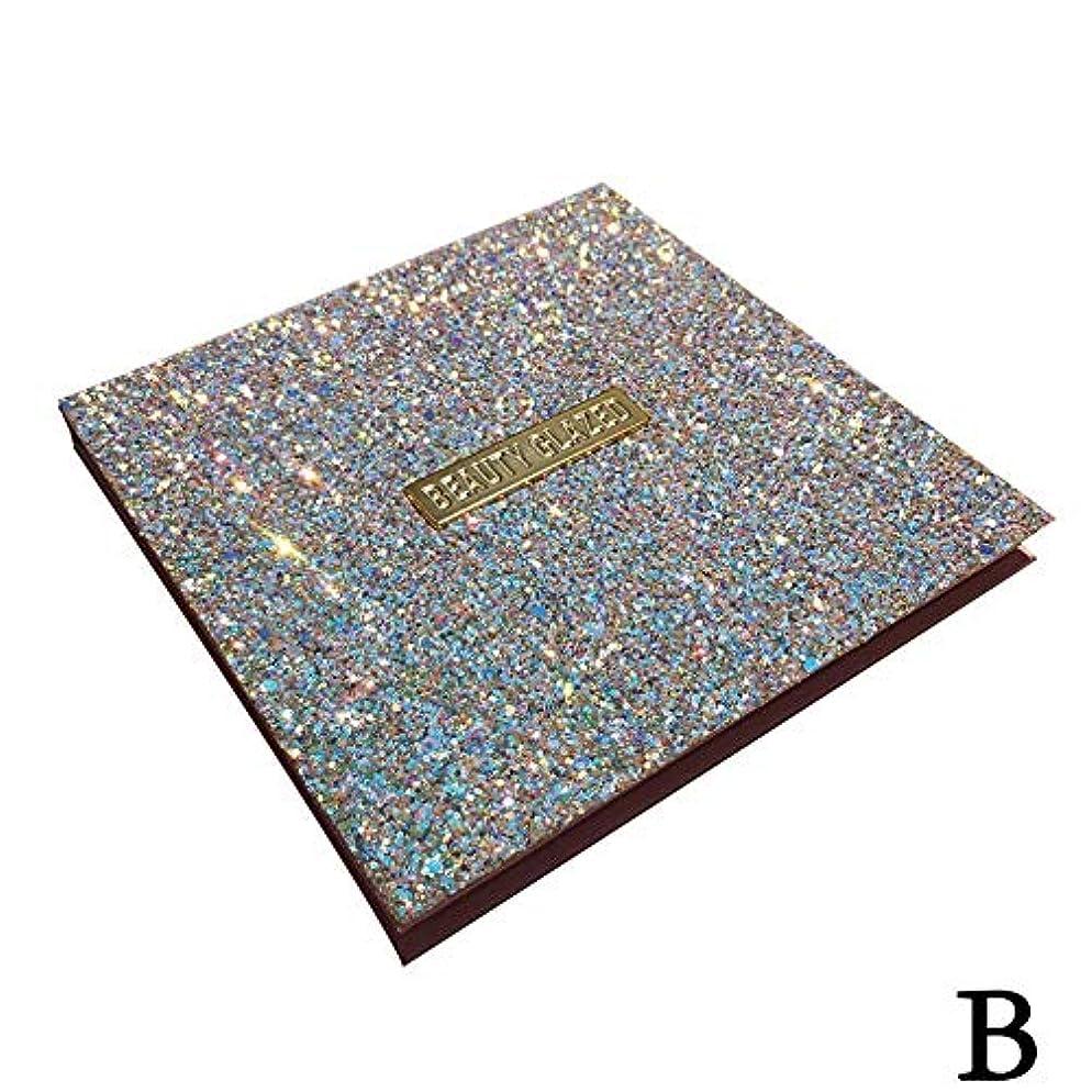 リズム愛情深いいらいらさせる(ゴールデン ドリーミング)Golden Dreaming beauty glazed 無光沢の真珠16色のアイシャドウ (B 2#)