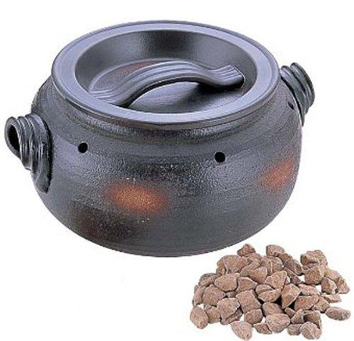 石焼きいも鍋「いも太郎」 天然石500g付 鍋 焼き芋
