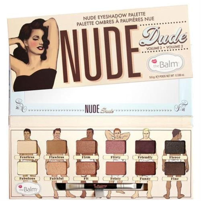 叫ぶ人道的の前でThebalm Nude Dude Nude Eyeshadow Palette (並行輸入品) [並行輸入品]