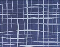 手洗いできる 北欧 デザインラグ cross-200250 ブルー 約200×250cm prevell プレーベル インテリアショップゆうあい