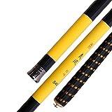 ENLI 炭素渓流竿 釣竿 釣り竿 超硬 超軽 (3.6M,4.5M,5.4M,6.3M,7.2M) (3.6m)