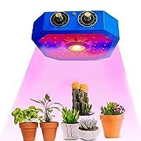 1000W LED植物成長ランプ、調光可能COBフルスペクトルダブルチップ植物育成ライト屋内野菜花苗植物ライト