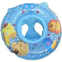 Brangerベビー水泳リング、ベビーセーフPVCインフレータブルシート、水泳Assistance 0 – 2歳の赤ちゃん、かわいい動物ペイントデザイン2424インチ
